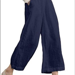 BRAND NEW NEVER WORN Wide Leg Cropped Pants